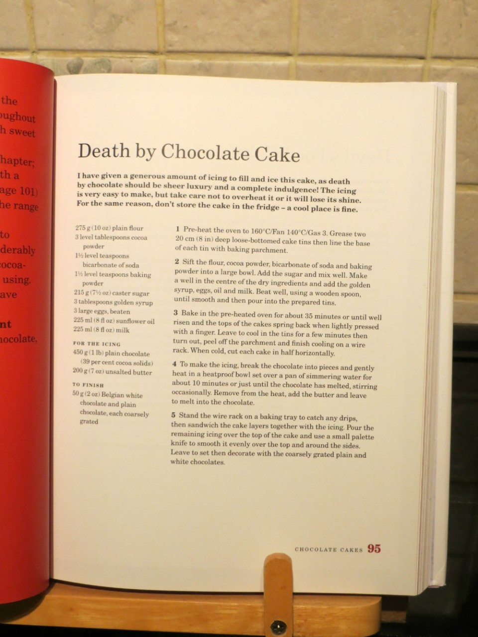 Mary Berry's Death by Chocolate Cake recipe