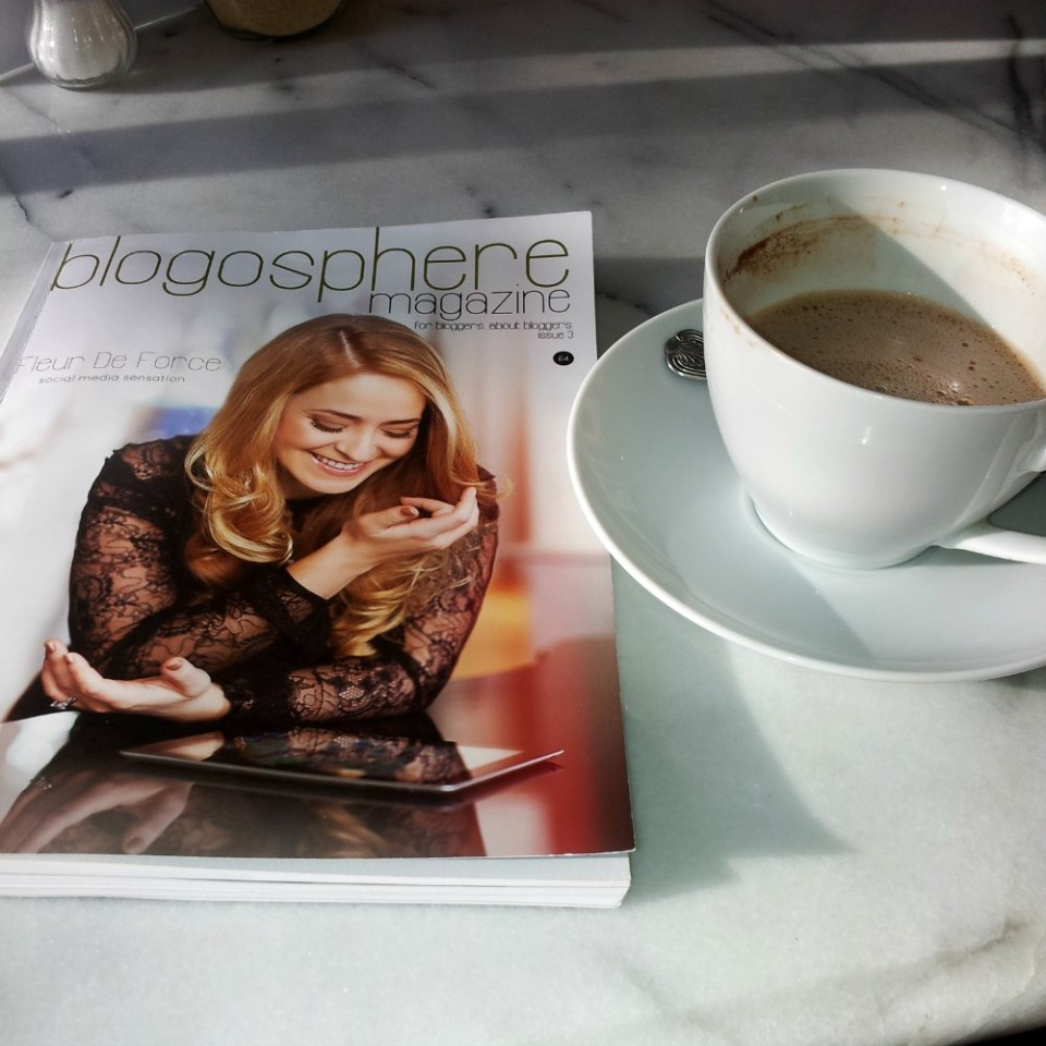 Blogosphere Magazine and spicy cacao