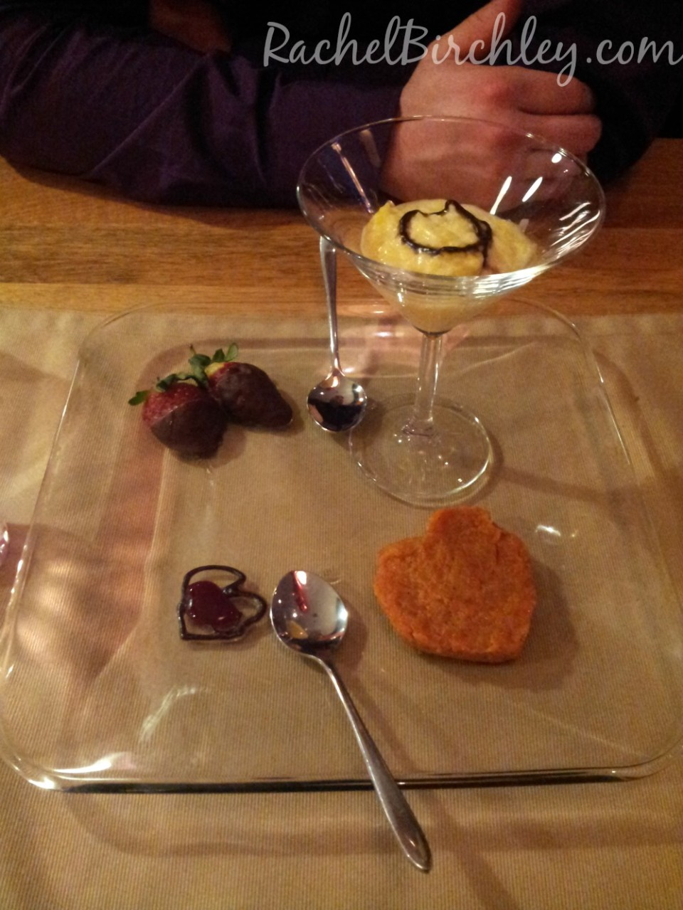 Dessert plate at Copper and Spices, Folkestone