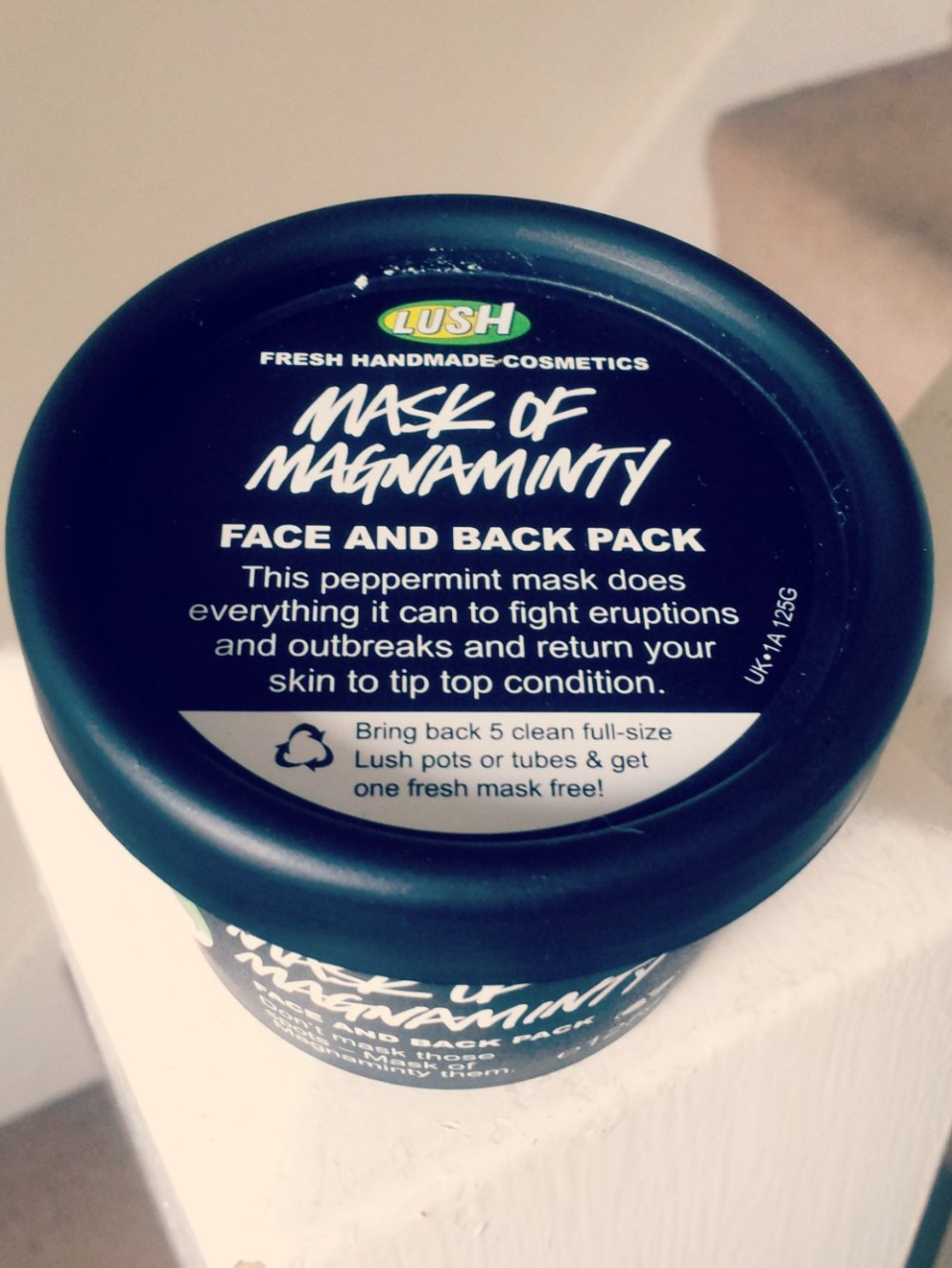 Mask of Magnaminty Lush Face Pack