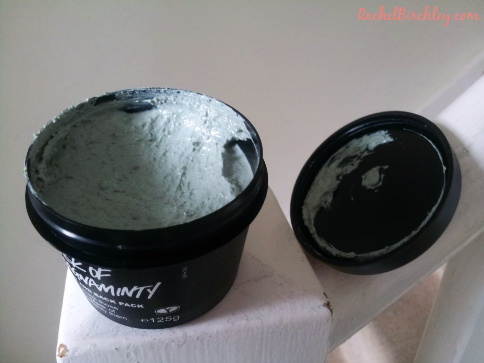 Lush Mask of Magnaminty face pack open