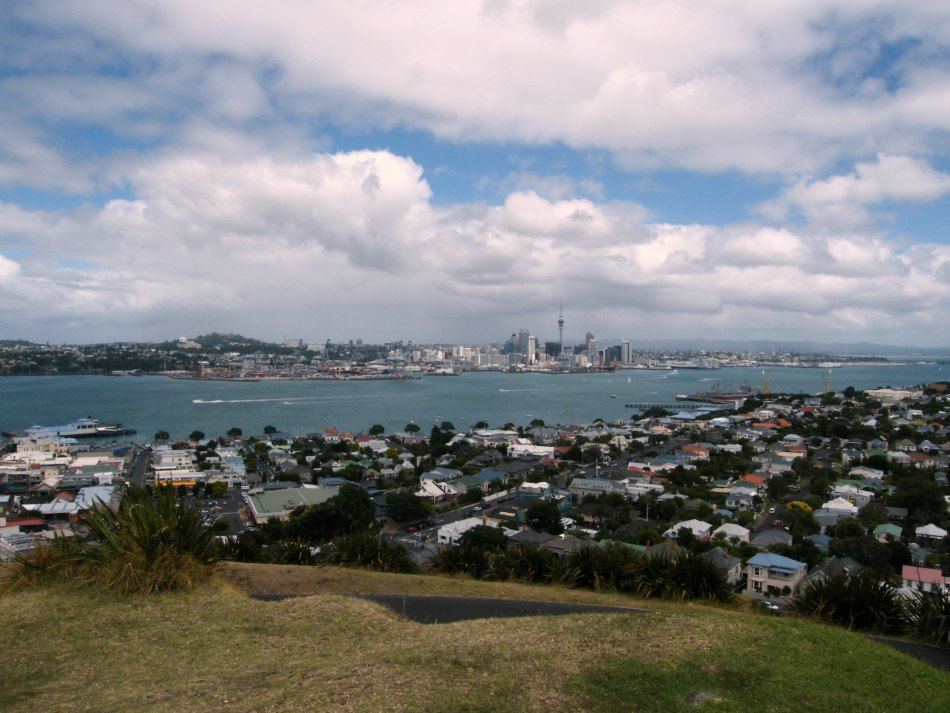It would be great to work from here one day! This is the top of Mount Victoria in Auckland. RachelBirchley.com