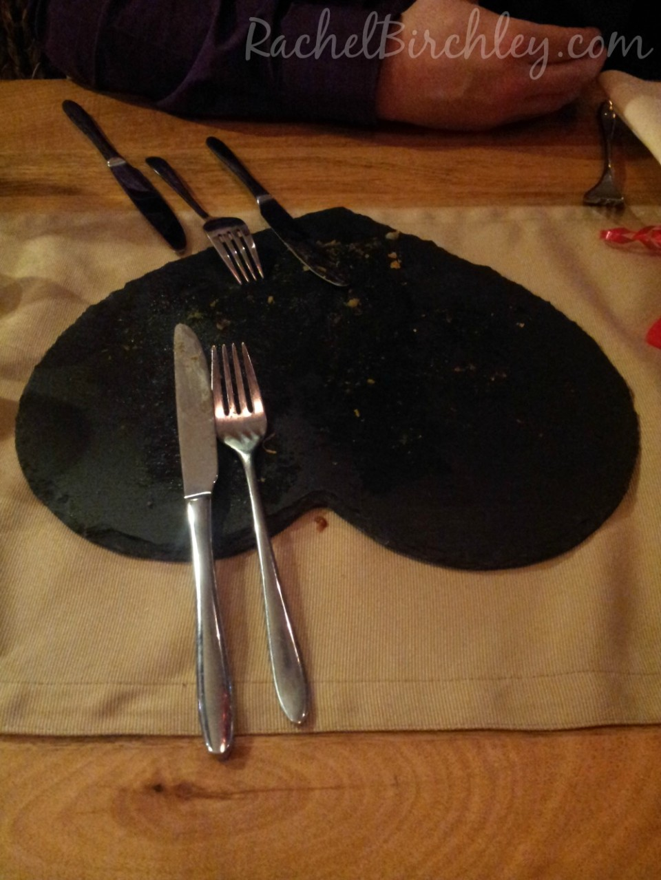 Remains of my starter at Copper and Spices Folkestone