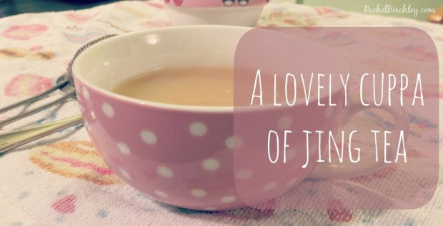 A lovely cuppa of Jing | RachelBirchley.com