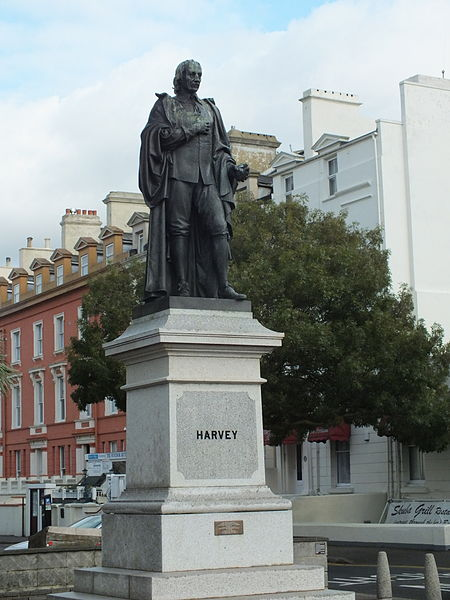 William Harvey statue Folkestone