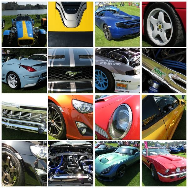 Supercars at Leeds Castle