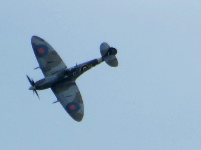 Spitfire at Folkestone Airshow