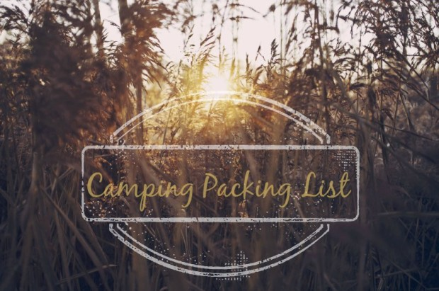 Camping packing list: what I'm taking to Blogstock