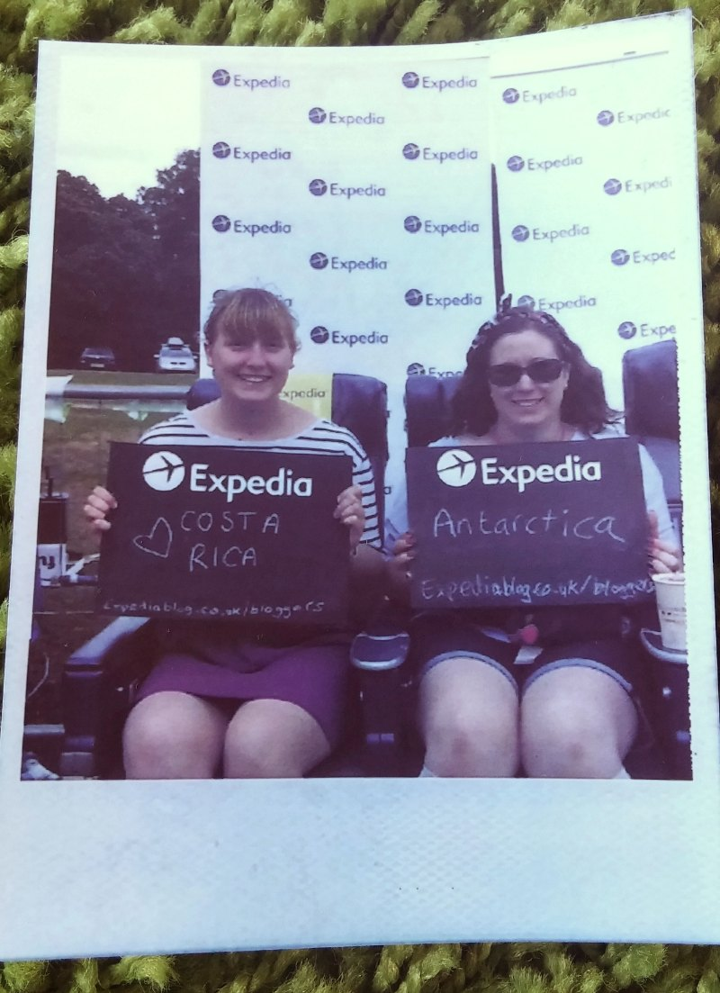 Expedia polaroid