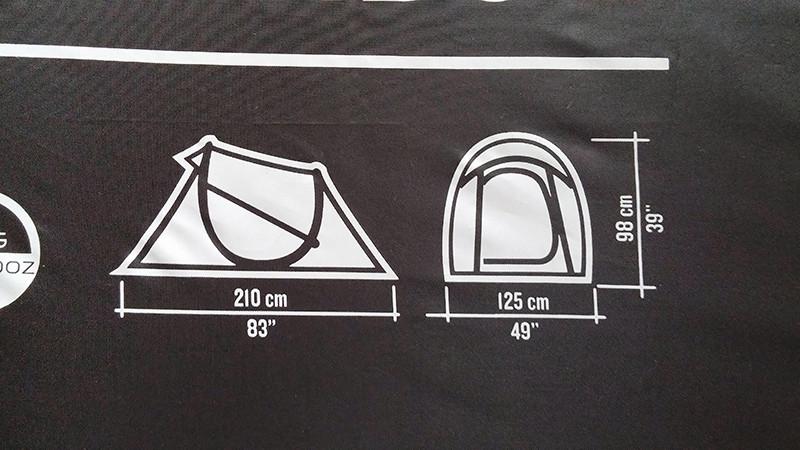 Quechua Easy 2 dimensions
