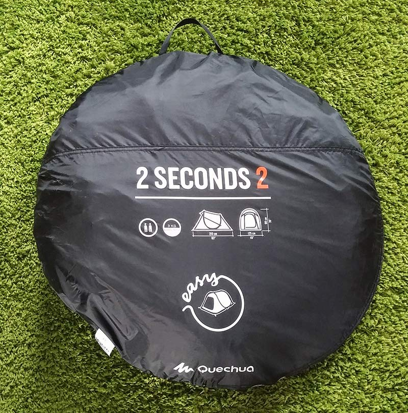 Quechua Easy 2 tent in bag