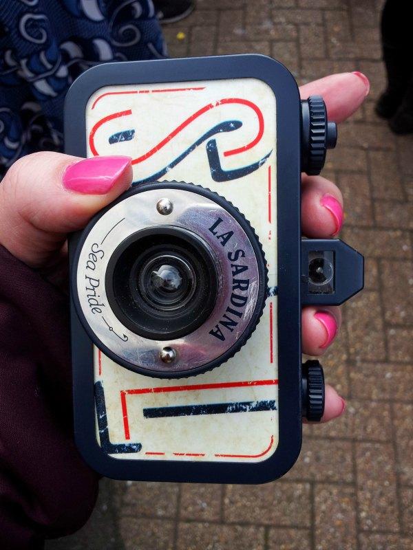 La Sardina lomography camera