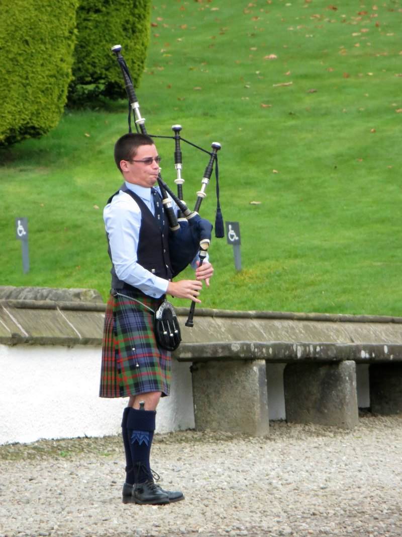 Piper at Blair Castle